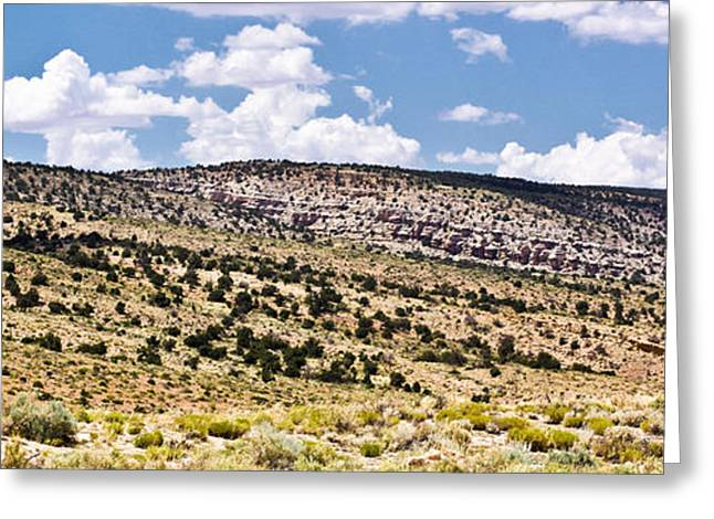 Arizona Hills Greeting Card by Ryan Kelly