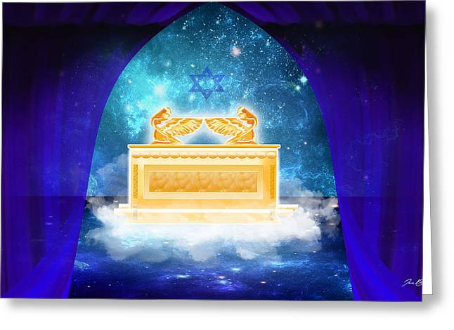Ark Of The Covenant Greeting Card by Jennifer Page