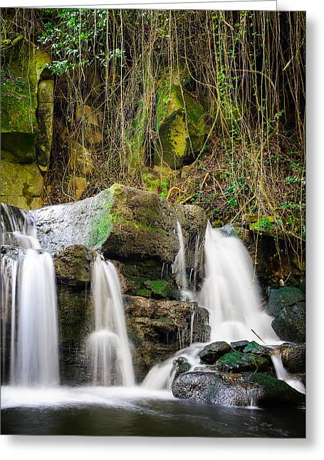 Armes Waterfall II Greeting Card by Marco Oliveira