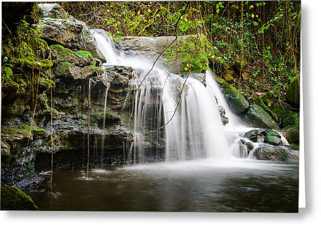 Armes Waterfall IIi Greeting Card by Marco Oliveira