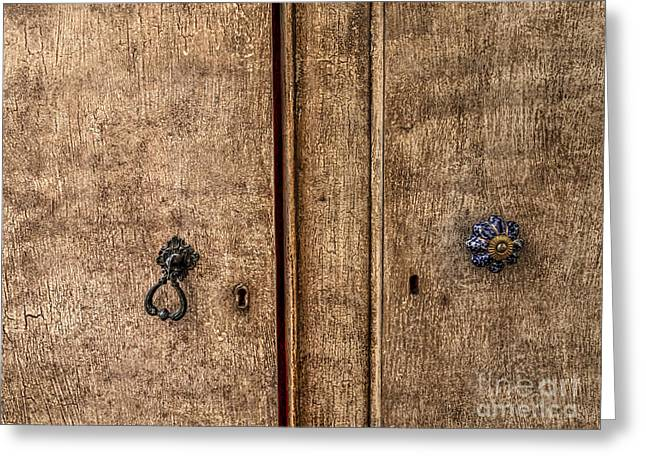 Dressing Room Greeting Cards - Armoire Greeting Card by Gillian Singleton