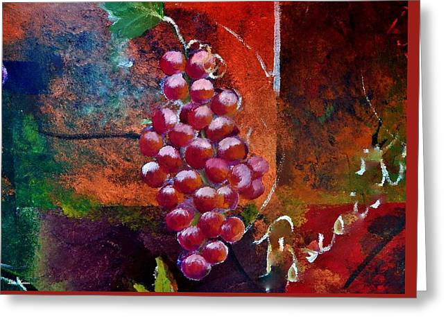 Fruit Greeting Cards - Aroma Greeting Card by Lisa Kaiser