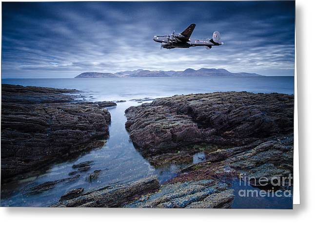 Arran Shackleton Greeting Card by Stephen Smith