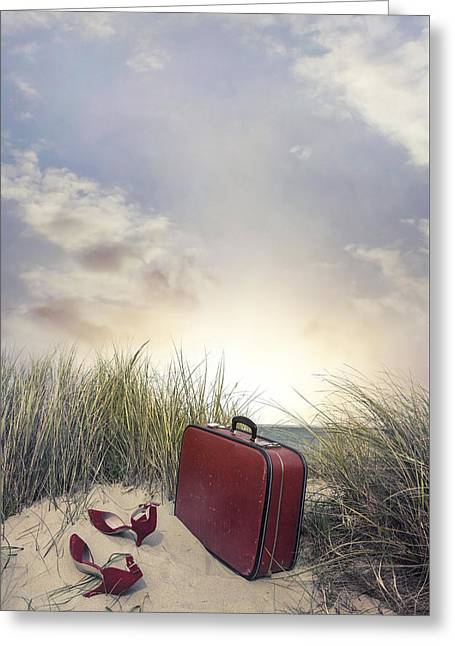 Arrived At Sunset Greeting Card by Joana Kruse