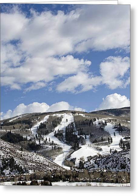 Beaver Greeting Cards - Arrowhead Mountain at Beaver Creek Resort - Colorado Greeting Card by Brendan Reals