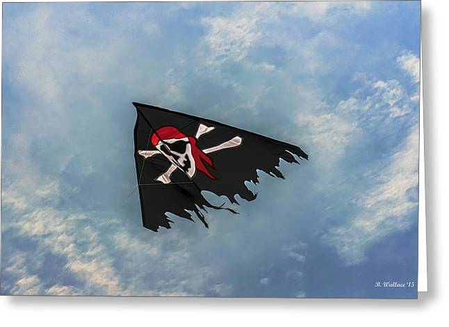 Tears Greeting Cards - Arrrrrrr Greeting Card by Brian Wallace