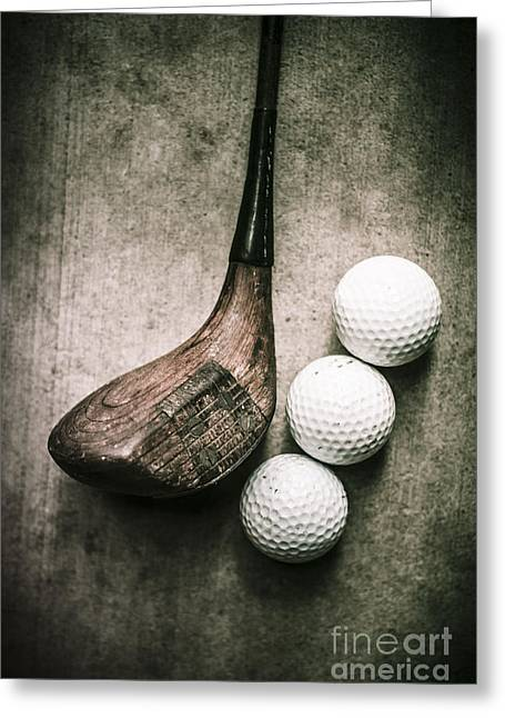 Art Of Golfing Greeting Card by Jorgo Photography - Wall Art Gallery