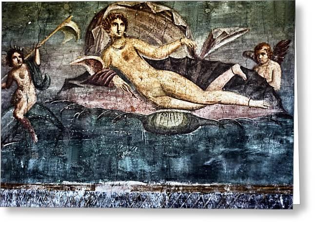 Art Of Pompei Greeting Card by Joachim G Pinkawa