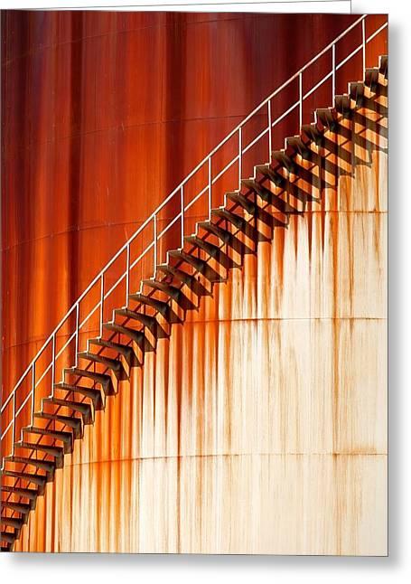 Greeting Cards - Art Stairways ... Greeting Card by Marco Zeeman