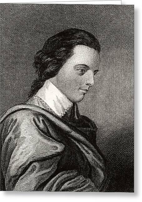 Fame Greeting Cards - Arthur Middleton 1742 To 1787 American Greeting Card by Ken Welsh