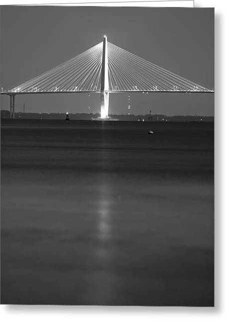 Arthur Ravenel Jr. Bridge  Greeting Card by Dustin K Ryan