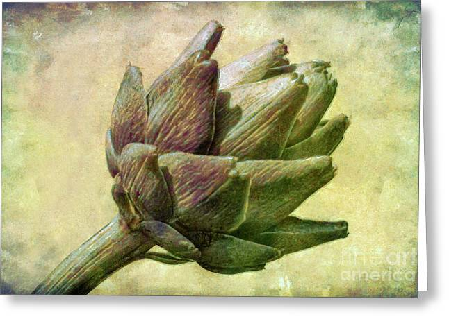 Artichoke Greeting Card by Susan Isakson
