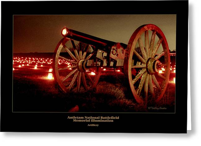 Luminaries Greeting Cards - Artillery 91 Greeting Card by Judi Quelland