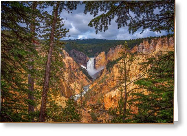 Artist Point Afternoon Greeting Card by Darren White