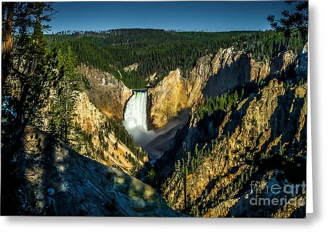 Artist Photographs Greeting Cards - Artist Point Yellowstone 3 Greeting Card by Ken Andersen
