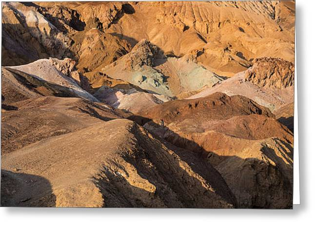ist Photographs Greeting Cards - Artists Palette Death Valley Greeting Card by Steve Gadomski