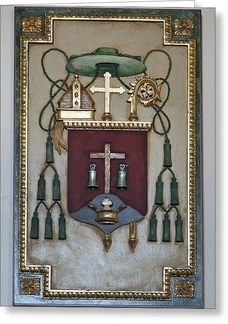Borromeo Greeting Cards - Artwork - Cathedral Of San Carlos Borromeo Greeting Card by Mountain Dreams