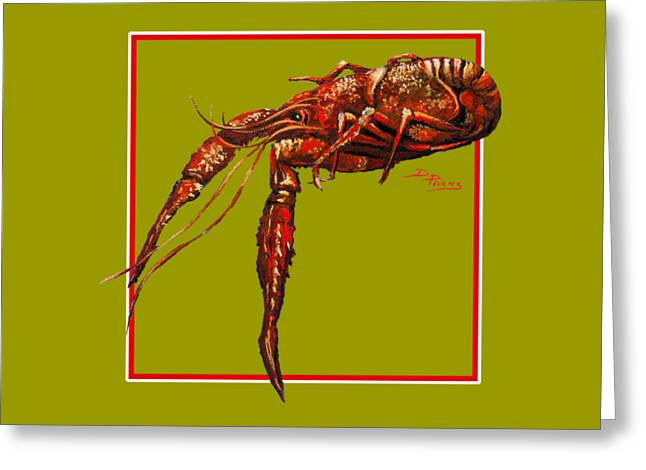 South Louisiana Greeting Cards - Big Red Greeting Card by Dianne Parks