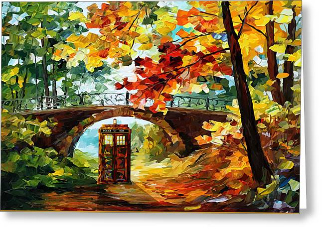 Fandom Greeting Cards - Abandoned Phone Booth Under the bridge Greeting Card by Three Second