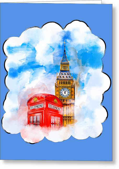 Victorian Greeting Cards - Dreaming Of London Greeting Card by Mark E Tisdale