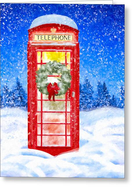 Still Night - A British Christmas Greeting Card by Mark Tisdale