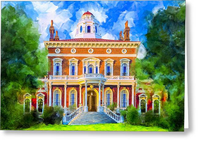 Hay House - Historic Macon Georgia Greeting Card by Mark Tisdale