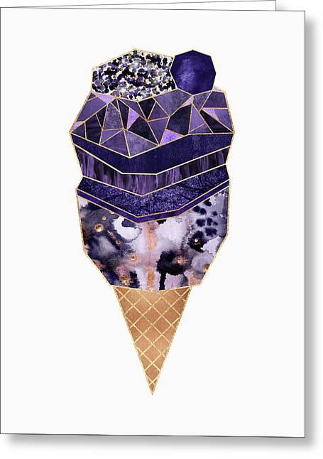 Ice Cream 1 Greeting Card by Elisabeth Fredriksson