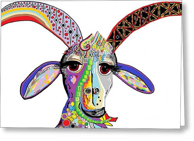 Somebody Got Your Goat? Greeting Card by Eloise Schneider