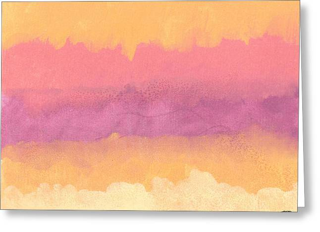 Sienna Greeting Cards - As Above So Below Greeting Card by Michelle Foster