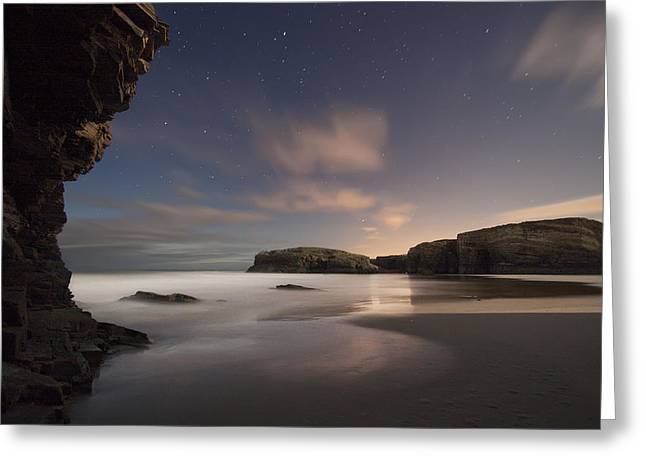 Beach Landscape Greeting Cards - As Catedrais Iv Greeting Card by Martin Zalba