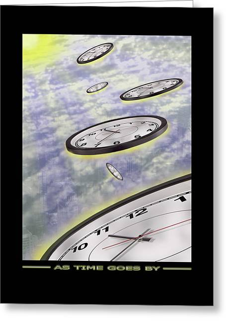 Show Time Greeting Cards - As Time Goes By Greeting Card by Mike McGlothlen
