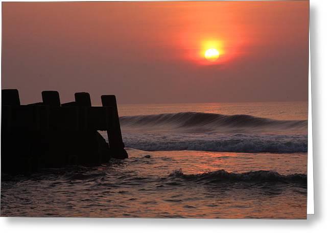 Asbury Greeting Cards - Asbury Sunrise Greeting Card by Jeff Bord