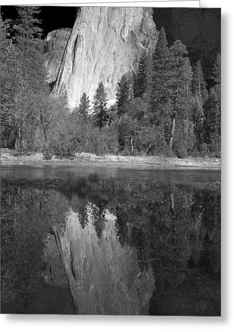 Cathedral Rock Photographs Greeting Cards - Ascend The Wall Greeting Card by Jon Glaser