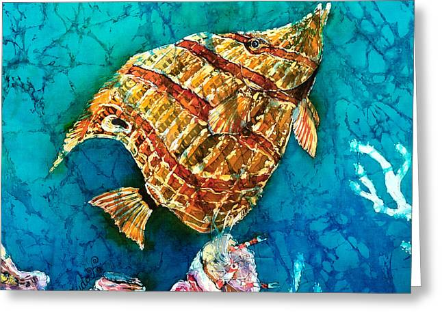 Coral Reef Greeting Cards - Ascending Greeting Card by Sue Duda