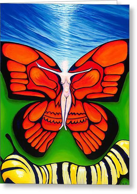 David Junod Greeting Cards - Ascension Greeting Card by David Junod