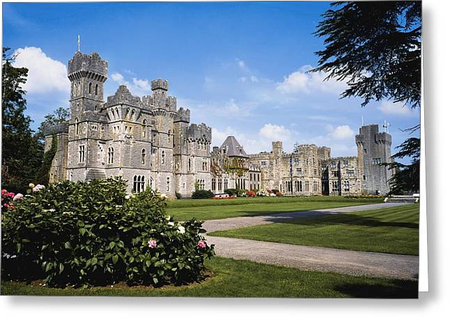 Middle Ages Greeting Cards - Ashford Castle, County Mayo, Ireland Greeting Card by The Irish Image Collection