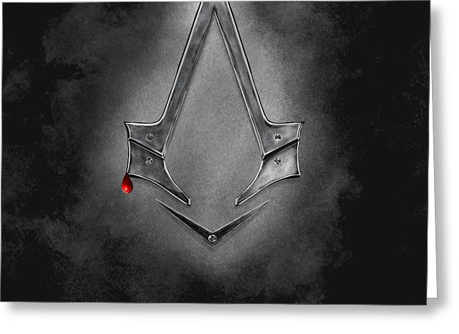 Assassin's Creed Syndicate  Greeting Card by Mathieu Lalonde
