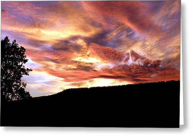 Amazing Sunset Greeting Cards - Astonishing Sunset Greeting Card by Will Borden