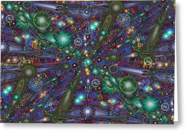 Astral Elixir Greeting Card by Tim Allen