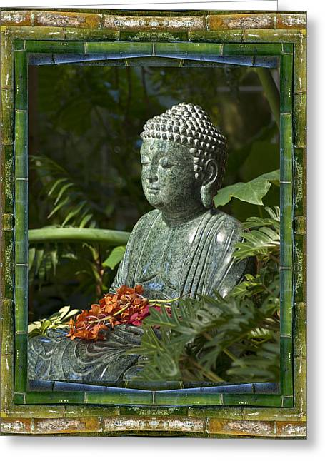 Garden Statuary Greeting Cards - At Rest Greeting Card by Bell And Todd
