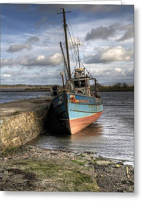 Ireland Photographs Greeting Cards - At rest Greeting Card by Marion Galt