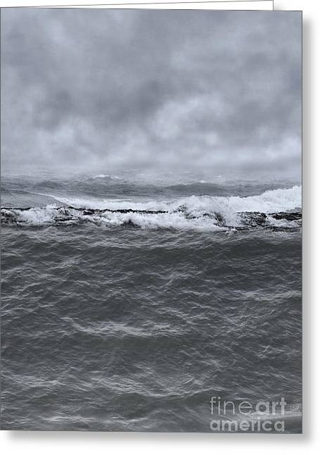 Flooding Greeting Cards - At Sea Greeting Card by Margie Hurwich