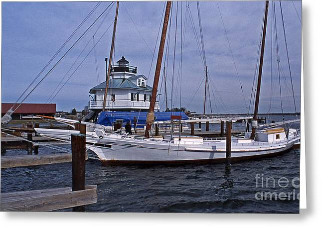 Ocean Art Photos Greeting Cards - At St Michaels Greeting Card by Skip Willits