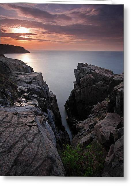 Coastal Maine Greeting Cards - Atlantic Genesis Greeting Card by Juergen Roth
