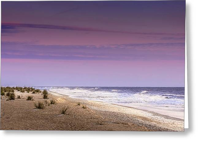 Atlantic Morning Greeting Card by Marvin Spates
