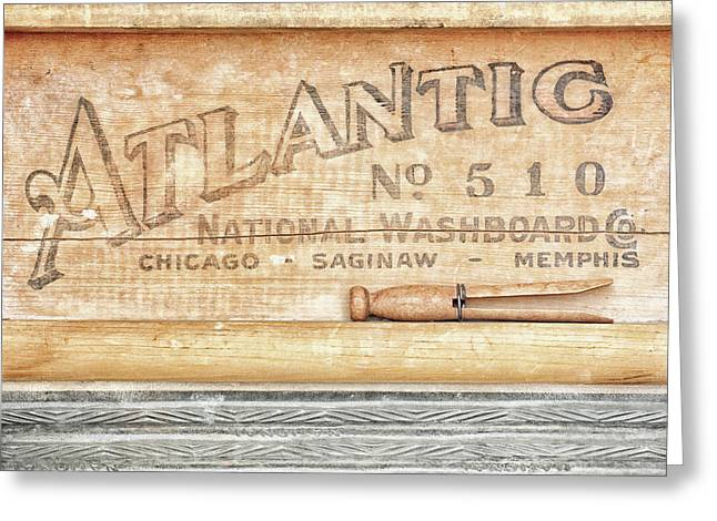 Atlantic No. 510 Greeting Card by Alison Sherrow I AgedPage