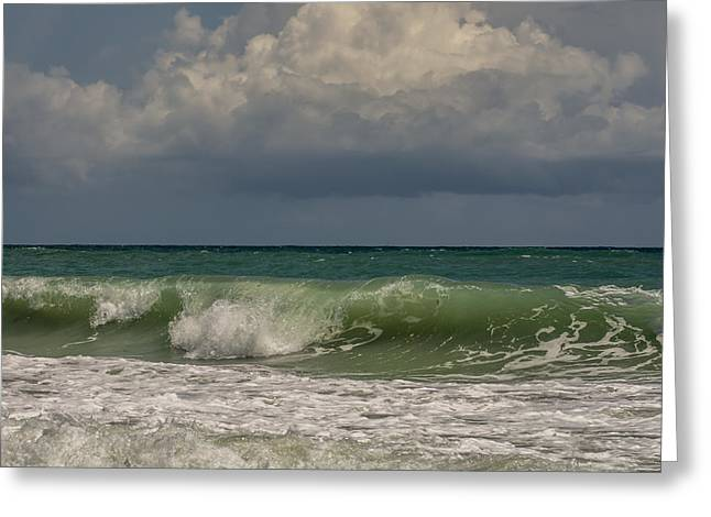 Print Photographs Greeting Cards - Atlantic ocean Greeting Card by Zina Stromberg
