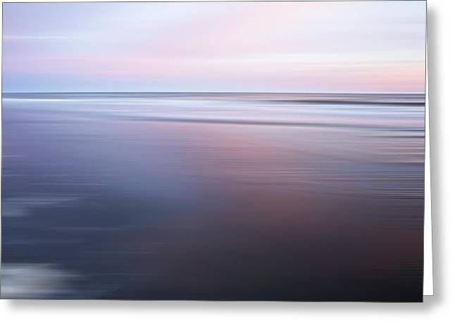 Ocean Images Greeting Cards - Atlantic Tranquility Greeting Card by Evie Carrier