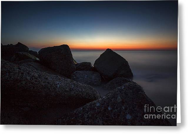 Warm Tones Greeting Cards - Atlantic Wall 15 Greeting Card by Casper Wilkens