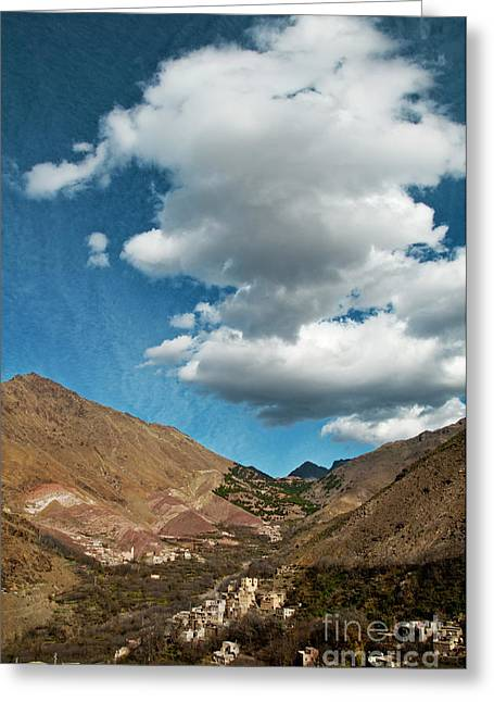 Atlas Mountains 2 Greeting Card by Marion Galt